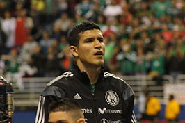 Francisco Rodriguez Mexico Anthem Jan 29 2014.JPG