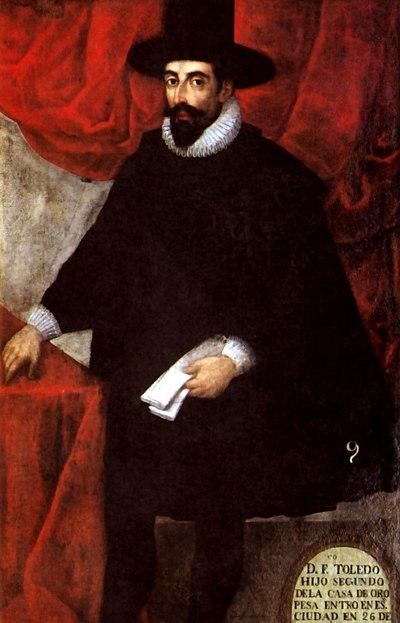 Retrato de Francisco de Toledo.