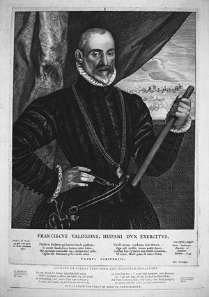 Francisco de Valdez - Francisco de Valdez (Cornelis de Visscher II, 1649)