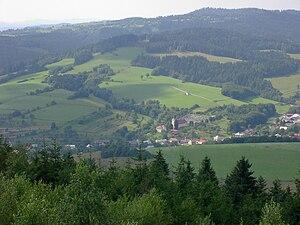 Zlín Region - Image: Francova Lhota vyhled