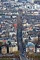 Frankfurt Am Main-Schweizer Strasse-Ansicht vom Maintower-20110328.jpg