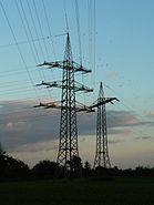 Frankfurt Schwanheim Pylons