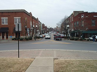 Franklin, Tennessee - Downtown Franklin