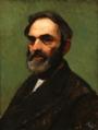 Frants Henningsen - Portræt af maleren Carl Bernhard Lübschitz.png