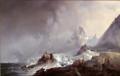 Franz Wilhelm Schiertz - Landskap fra Norskøyene på Spitsbergen - Nasjonalmuseet - NG.M.00763.png