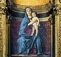 Frari (Venice) - Sacristy - triptych by Giovanni Bellini - The Vigrine and Child.jpg