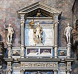 Frari (Venice) right transept - Monument to Benedetto Pesaro.jpg