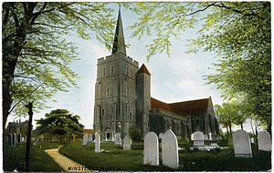 Frederick Christian Palmer - Church at Minster, Thanet, 1903–1904