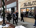Fred and Steve King on the move (2148557447).jpg