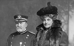 Frederick Dent Grant - Grant and his wife Ida in 1905