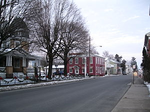 Freeburg, Pennsylvania - Market Street (PA 35) in 2013