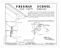Freeman School, Beatrice, Gage County, NE HABS NEB,34-BEAT.V,1A- (sheet 1 of 3).png