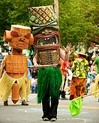 Tiki at the 2010 Fremont Solstice Parade