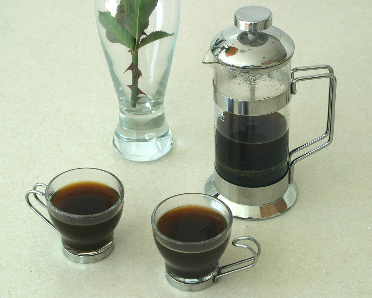 French press wikipedia - Utilisation cafetiere a piston ...