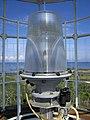 Fresnel Lens housing the lamp at Chantry Island Lighthouse (27274573498).jpg
