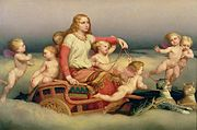 180px-Freyja_and_cats_and_angels_by_Blom