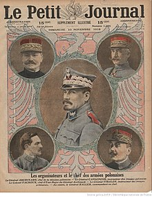 Color portraits on front cover of a magazine