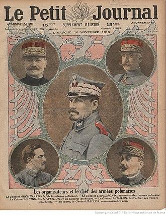 Blue Army (Poland) - The leaders of the Polish armies