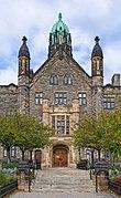 Front portal of Trinity College, Toronto.jpg