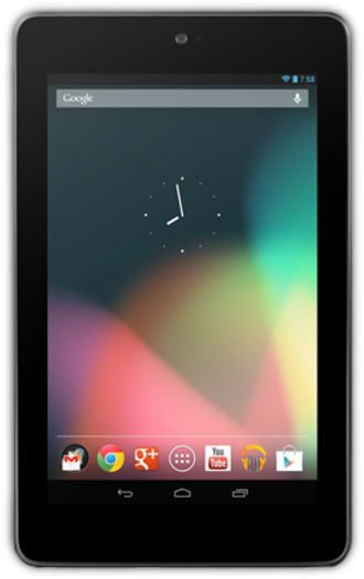 Criticism of Linux - The first-generation Nexus 7 tablet running Android, an operating system using the Linux kernel. While Linux-based operating systems are in common use in computer tablets, they are less frequently adopted as desktop computers.