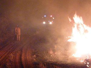 2012–13 Australian bushfire season - Northern Territory Fire 2013