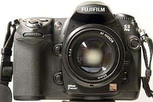 Fujifilm FinePix - Image: Fujifilm Fine Pix S5 Pro