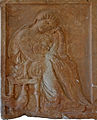 Funeral Stele Depicting a Mother, Child and Cockerel.jpg
