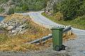 Fv882 road at Øksfjorden in Finnmark, Norway, 2014 August.jpg