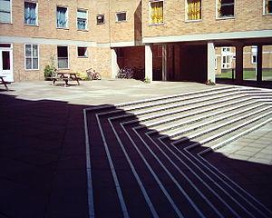 Fylde College, Lancaster - Fylde College Quadrangle