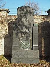 Grave of Josef Gänsbacher at the Vienna Central Cemetery (Source: Wikimedia)