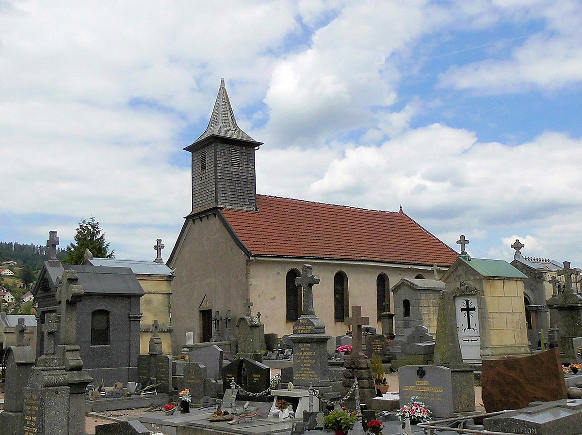 One of Gérardmer's church