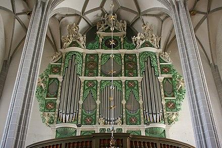 Orgellandschaft Sachsen