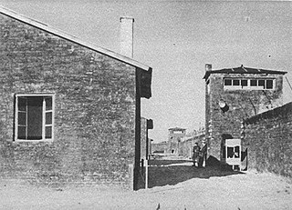 Nazi concentration camp in Warsaw during World War II