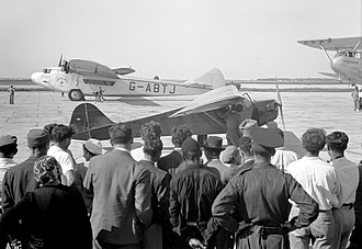 Armstrong Whitworth Atalanta - Artemis at Lydda Airport, 1939