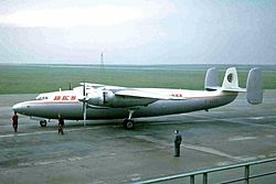 G-ALZR 1 AS57 Ambassador BKS LPL 29NOV64 (6150772897).jpg