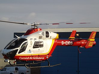 Air ambulances in the United Kingdom - G-CIOS MD902