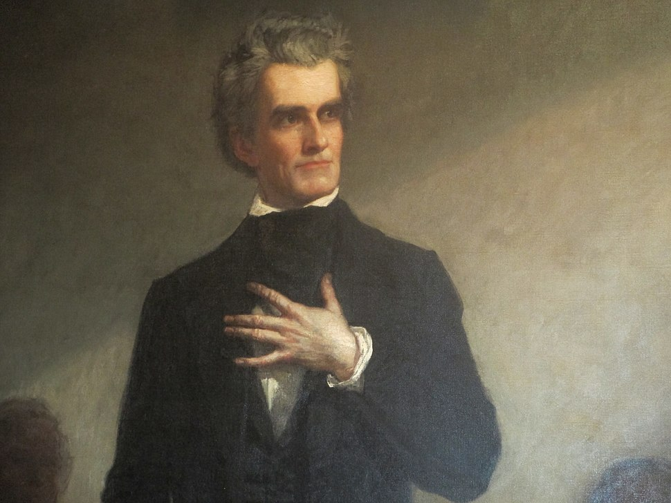 G.P.A. Healy's portrait of John C. Calhoun, Charleston City Hall IMG 4589