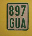 GERMANY 2010 -MOPED PLATE ^897GUA - Flickr - woody1778a.jpg