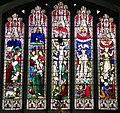 GOC Sawbridgeworth 089 Stained glass in Great St Mary's Church, Sawbridgeworth (29981225053).jpg