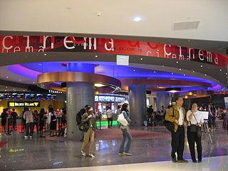 Golden Village Cinema chain in Singapore
