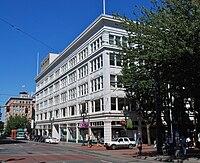 Galleria in 2011, SW corner - Portland, Oregon.jpg