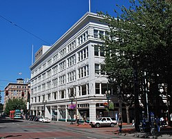 Galleria in 2011, SW corner - Portland, Oregon.jpg