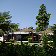 The Sabarmati Ashram, home of Mahatma Gandhi