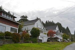 Gardiner, Oregon - The Gardiner Historic District in 2011.