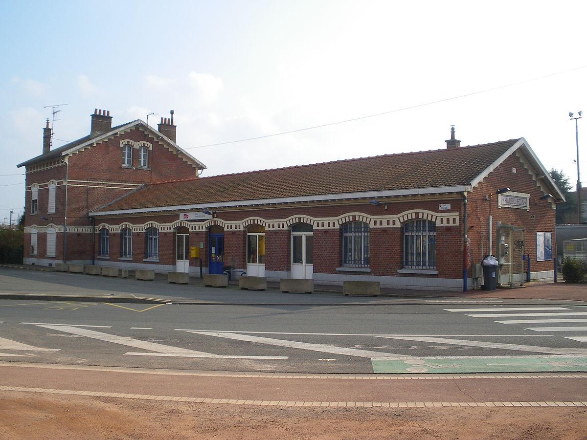 Gare d 39 haubourdin wikip dia for Garage de la gare bretigny