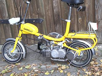 Garelli Motorcycles - Garelli City Bike 1972.