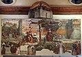 Garofalo, allegoria dell'antico e nuovo testamento con trionfo della chiesa sulla sinagoga, 1523, da s. andrea a ferrara 01.jpg