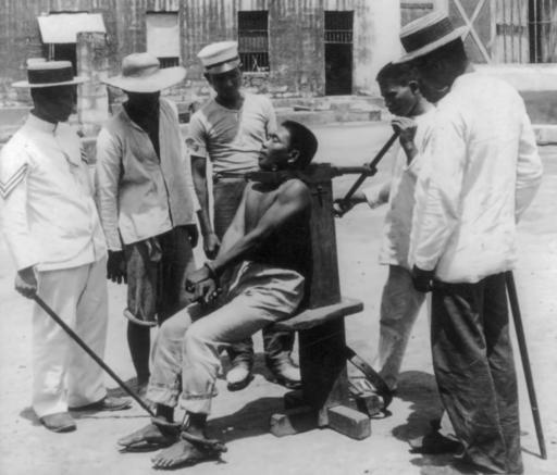 Garrote Execution - 1901