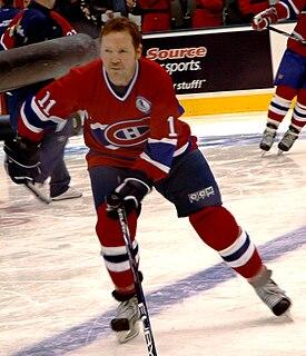 Gary Leeman Canadian ice hockey player