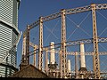 Gasholders and Battersea Power Station - geograph.org.uk - 617317.jpg